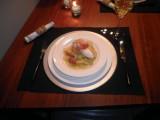 Kabeljauw met in bouillon gegaarde aardappel en ham