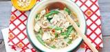 Noedelsoep met kip en cashewnoten (hoofdgerecht)