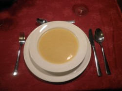Paprikasoep (zacht geel)