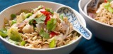 Thaise noedelsoep met kip (hoofdgerecht)