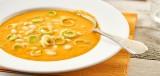 Witte-bonen-wortelsoep (hoofdgerecht).