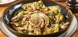 Gegrilde groente met champignons