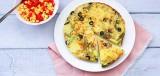Tortilla met bosuitjes