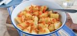 Aardappelen in paprikajus