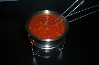 Tomatensaus (gehaktballetjes)