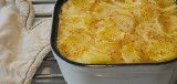 Knolselderij-aardappelgratin