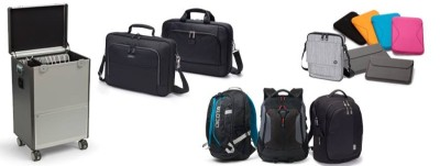 TORBY laptoptassen, rugzakken, trolleys, tablet cases en accessoires van Dicota.