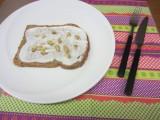 Kwark, honing smeerseltje voor op brood